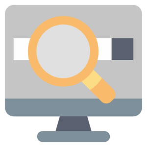 <em>Gestion</em><br><b>Ricerca per parole chiave e ricerca avanzata</b>